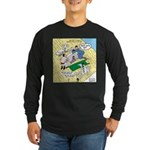 Rooftop Rescue Long Sleeve Dark T-Shirt