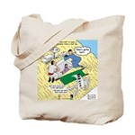 Rooftop Rescue Tote Bag