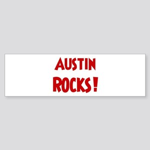 Austin Rocks Bumper Sticker