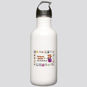 COUPON QUEEN Stainless Water Bottle 1.0L
