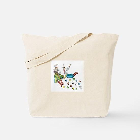 polka dots Tote Bag