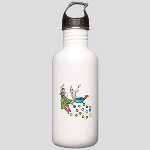 polka dots Stainless Water Bottle 1.0L