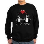Penguin Hearts Sweatshirt (dark)