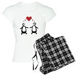 Penguin Hearts Women's Light Pajamas