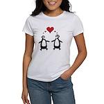 Penguin Hearts Women's T-Shirt