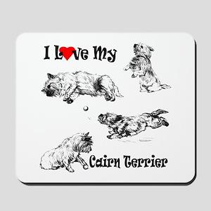 Love My Cairn Mousepad