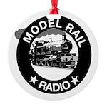 modelrailradio_logo Round Ornament