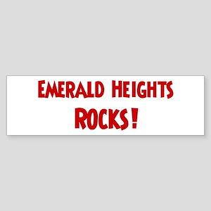Emerald Heights Rocks Bumper Sticker