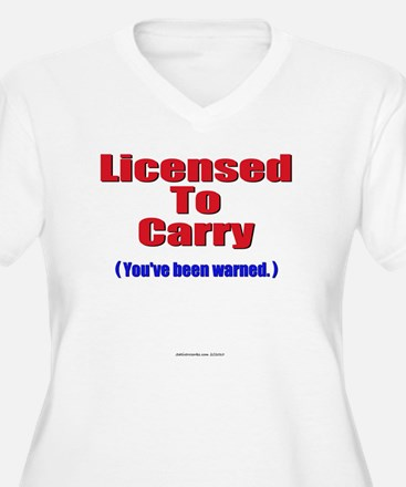 Licensed To Carry Plus Size T-Shirt