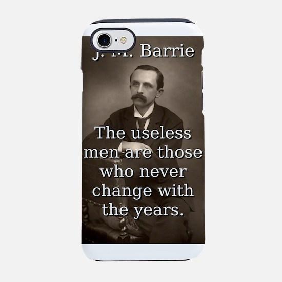The Useless Men - J M Barrie iPhone 7 Tough Case