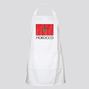 Morocco Flag BBQ Apron