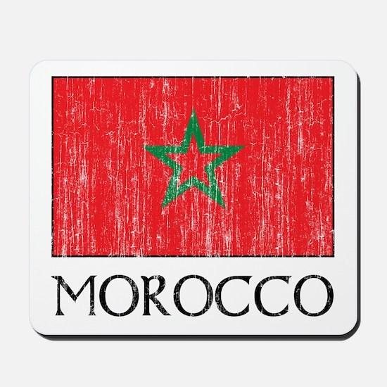 Morocco Flag Mousepad