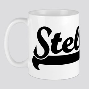 Black jersey: Stella Mug