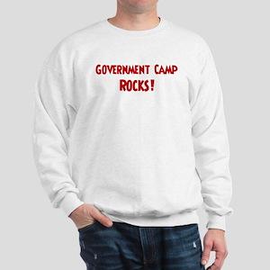 Government Camp Rocks Sweatshirt