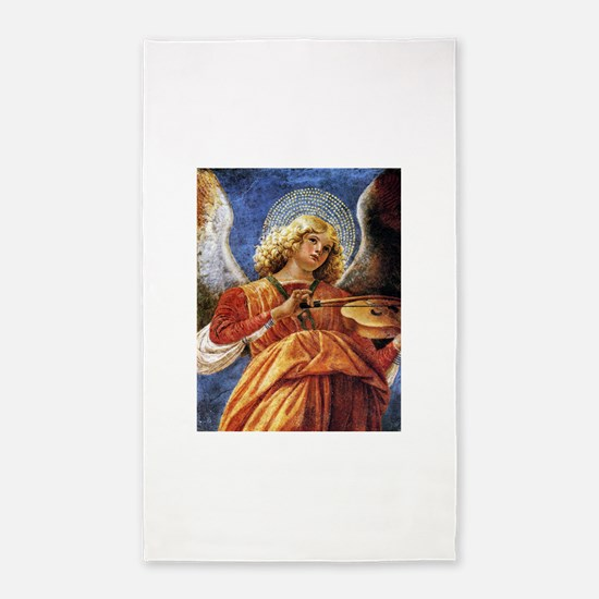 Melozzo Music Making Angel 3'x5' Area Rug