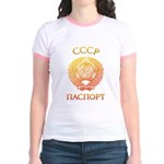 Passport soviet Jr. Ringer T-Shirt