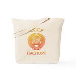 Passport soviet Tote Bag