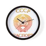 Passport soviet Wall Clock