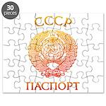 Passport soviet Puzzle