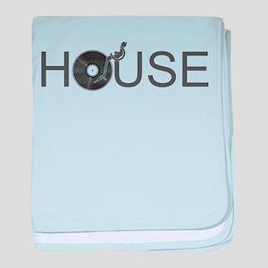 House Music baby blanket