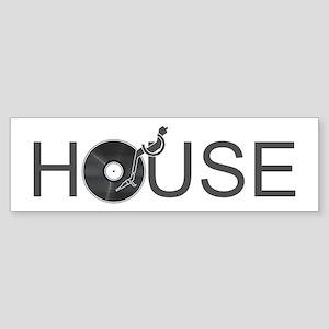 House Music Sticker (Bumper)