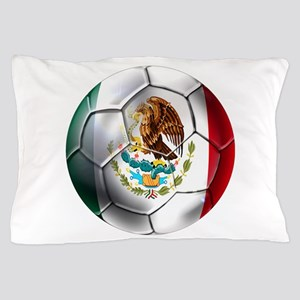 Mexican Soccer Ball Pillow Case