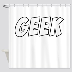 Geek Comic Shower Curtain