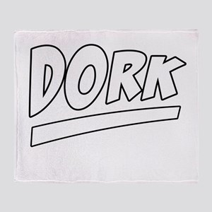 Dork Throw Blanket