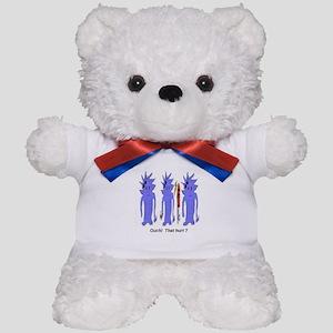 Ouch That Hurt Teddy Bear
