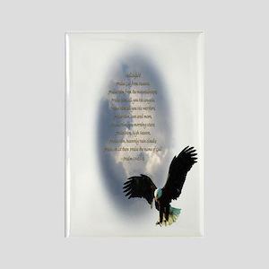 Nature's Prayer Rectangle Magnet