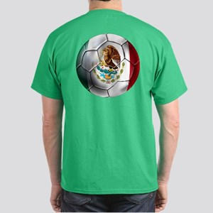 Mexican Futbol Dark T-Shirt