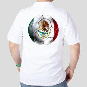 Mexican Futbol Golf Shirt