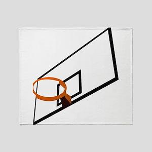 Basketball Goal Throw Blanket