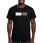 N3UG Men's Fitted T-Shirt (dark)