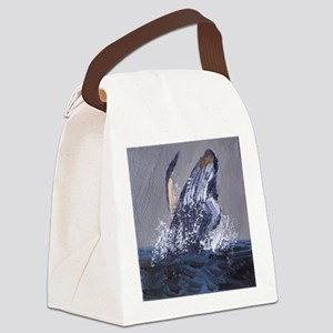 Humpback Canvas Lunch Bag