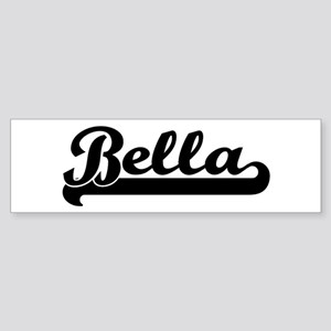 Black jersey: Bella Bumper Sticker