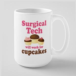 Surgical Tech Funny Large Mug