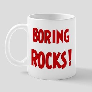 Boring Rocks Mug