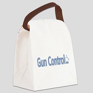 Gun Control Dislike Canvas Lunch Bag