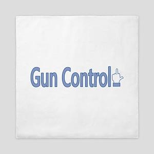 Gun Control Dislike Queen Duvet