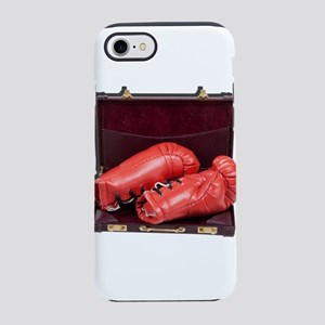 Boxing Gloves in a Briefcase iPhone 7 Tough Case