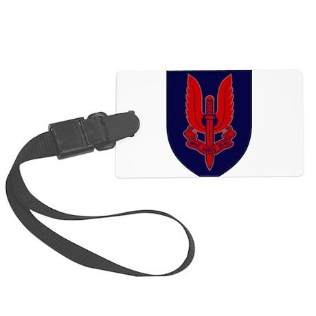 SASR badge e5 Large Luggage Tag