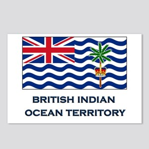 The British Indian Ocean Territory Flag Gear Postc