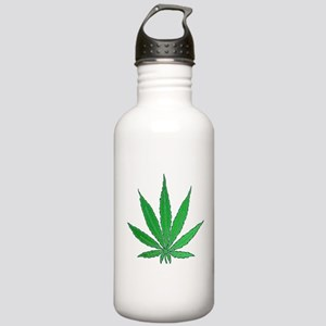 Pot Leaf Stainless Water Bottle 1.0L