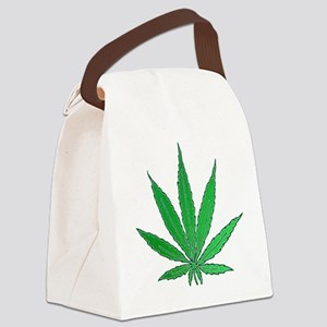 Pot Leaf Canvas Lunch Bag