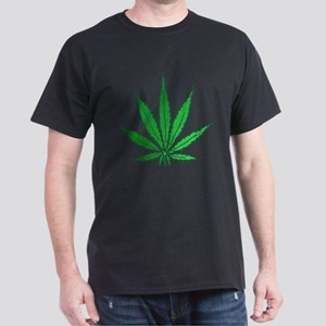 Pot Leaf Dark T-Shirt