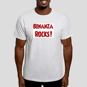 Bonanza Rocks Ash Grey T-Shirt