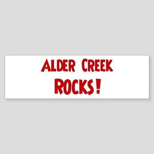 Alder Creek Rocks Bumper Sticker