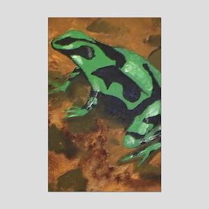 Poison Dart Frog Mini Poster Print
