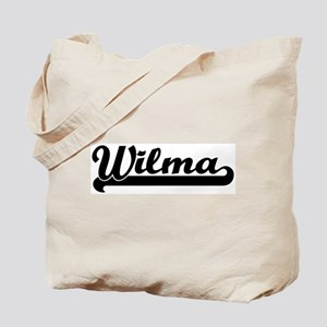 Black jersey: Wilma Tote Bag